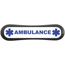 "Plaque d'identification de place de parking ""Ambulance"""