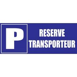 Réservé transporteur