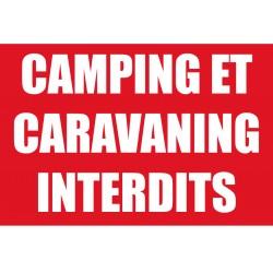 Camping et caravaning interdits