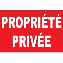 Proprièté privée