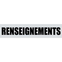 RENSEIGNEMENTS