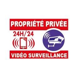 Proprièté privée vidéo surveillance