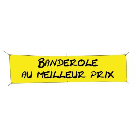 Banderole publicitaire 1000x500mm