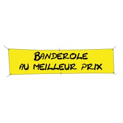 Banderole publicitaire 1000x900mm