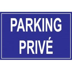 Panneau parking privée