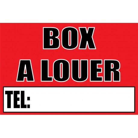 Panneau box a louer
