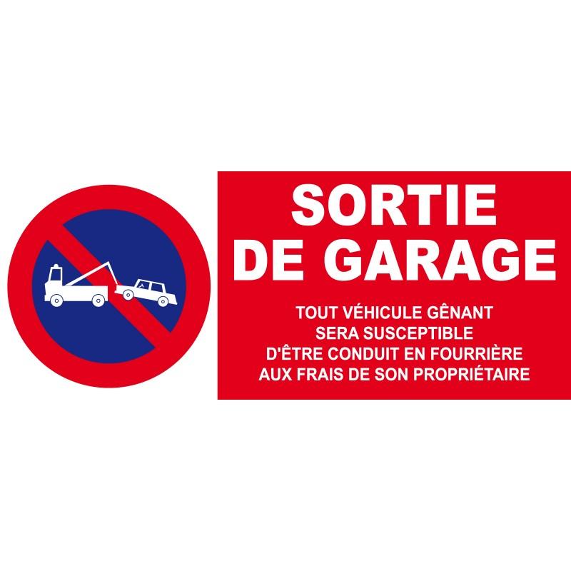 Panneau sortie de garage - Retroviseur pour sortie de garage ...