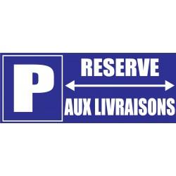 Panneau parking réservé aux riverains