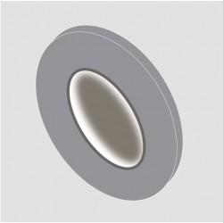 Adhésif de décoration de couleur gris métal