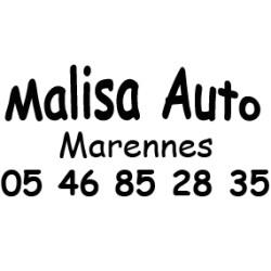 Signature de coffre auto adhésive
