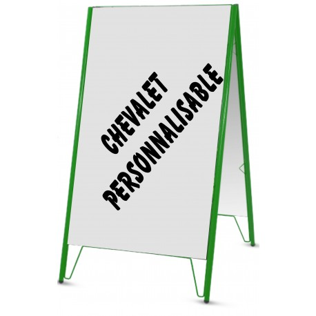 Chevalet recto/verso personnalisable