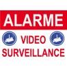 Panneau Proprièté sous vidéo surveillance