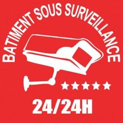 Bâtiment sous surveillance