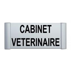 "Plaque de porte Alu ""CABINET MEDICAL"""